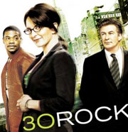 Tina Fey, Alec Baldwin, and Tracy Morgan on 30 Rock