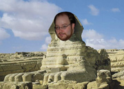Hans on the Great Sphinx