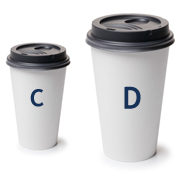 C and D Cups of Coffee